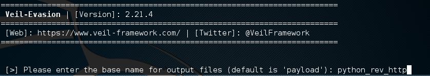 root@kali: -opt-Veil-Evasion_002