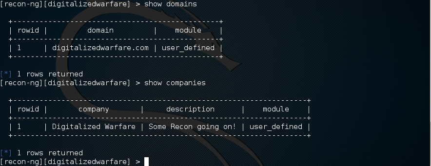 recon-ng-kali2-Workspaces